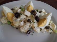 Kartoffelsalat auf griechische Art - Rezept