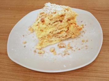 Russischer Napoleon-Kuchen - Rezept
