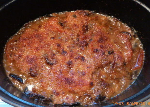 Geschmorte Lammhaxe mit Auberginen und Tomaten - Rezept - Bild Nr. 8