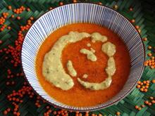 Cremige Rote-Linsen-Tomaten-Suppe - Rezept - Bild Nr. 2