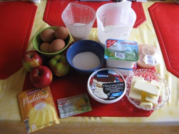 Quark Apfelkuchen - Rezept - Bild Nr. 2