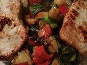Minutenschnitzel mit Gemüsepfanne à la Biggi - Rezept - Bild Nr. 9