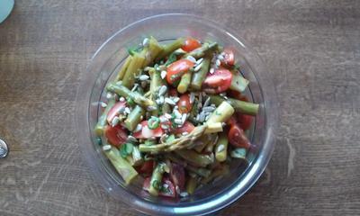 Grüner - Spargelsalat - Rezept