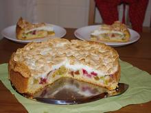 Rhabarber-Meringe-Kuchen von Mama - Rezept