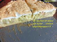 Rhabarber-Meringe-Kuchen von Mama - Rezept - Bild Nr. 4