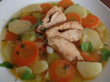 Kartoffel-Möhren-Eintopf mit Hähnchen - Rezept