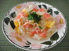 Fruchtiger Sauerkraut - Salat - Rezept