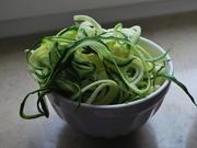Nudelauflauf mit zweierlei Lachs und Zucchinispaghetti  - Rezept - Bild Nr. 4