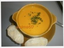 Kürbis - Kokossuppe - Rezept