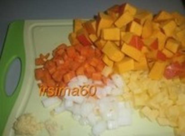 Kürbis - Kokossuppe - Rezept - Bild Nr. 2