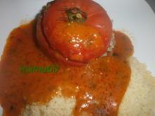 Gefüllte Tomaten mit Hackfleisch und Schafskäse - Rezept