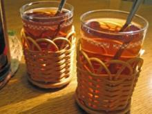 Apfel-Glühwein - ohne Alkohol, - Rezept