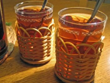 Rezept: Apfel-Glühwein - ohne Alkohol,