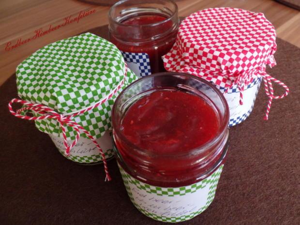 Erdbeer-Himbeer-Konfitüre - Rezept