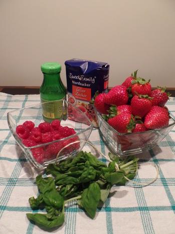 Erdbeer-Himbeer-Konfitüre - Rezept - Bild Nr. 2