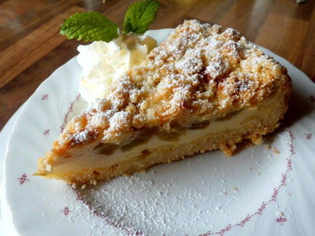 Rhabarberkuchen Mit Quarkcreme Rezept Mit Video Kochbar De