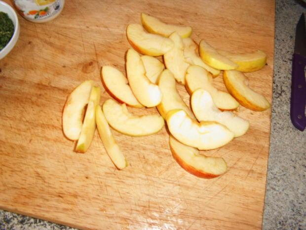 Hähnchen -Apfel-Curry-Pfanne - Rezept - Bild Nr. 4