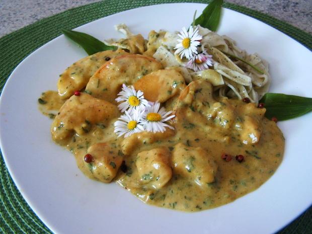 Hähnchen -Apfel-Curry-Pfanne - Rezept - Bild Nr. 8