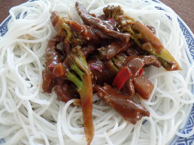 Chinapfanne mit Rind und Brokkoli - Rezept