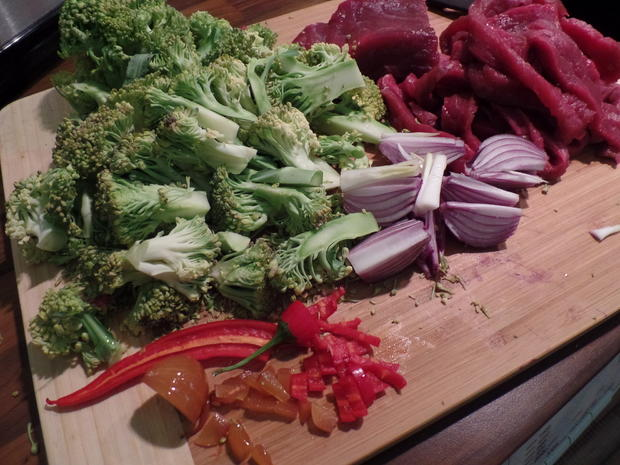 Chinapfanne mit Rind und Brokkoli - Rezept - Bild Nr. 3