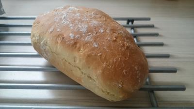 Dinkel-Soja-Brot - Rezept