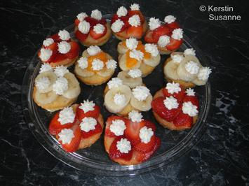 Rezept: Obst-Törtchen
