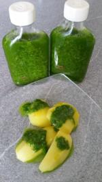 "Bärlauch Emulsion ""Pesto"" mit Pfiff - Rezept"