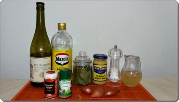 Spargel mit Sauce Dijonnaise und Pellkartoffeln - Rezept - Bild Nr. 8