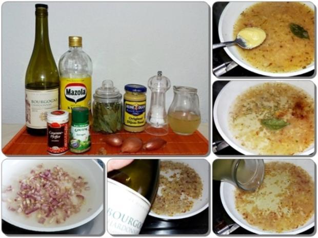 Spargel mit Sauce Dijonnaise und Pellkartoffeln - Rezept - Bild Nr. 9