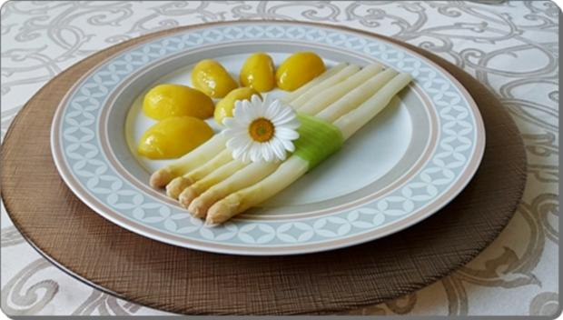 Spargel mit Sauce Dijonnaise und Pellkartoffeln - Rezept - Bild Nr. 17