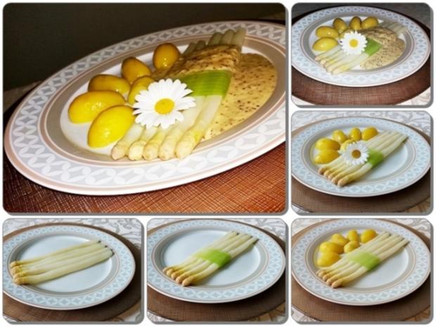 Spargel mit Sauce Dijonnaise und Pellkartoffeln - Rezept - Bild Nr. 21