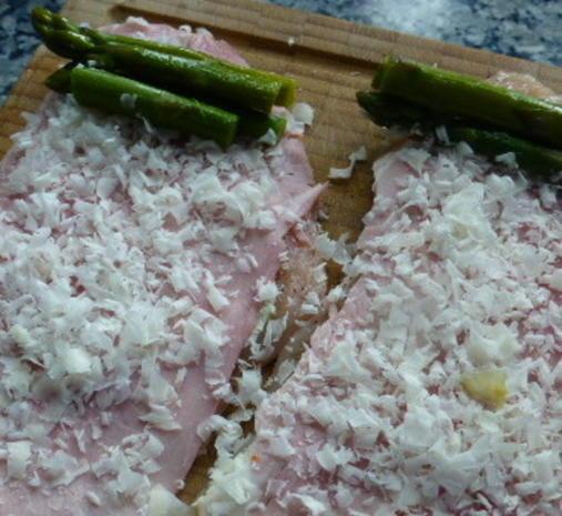Hähnchen-Involtini mit Paprikageröstl - Rezept - Bild Nr. 4