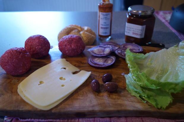 Scharfer Burger - Rezept