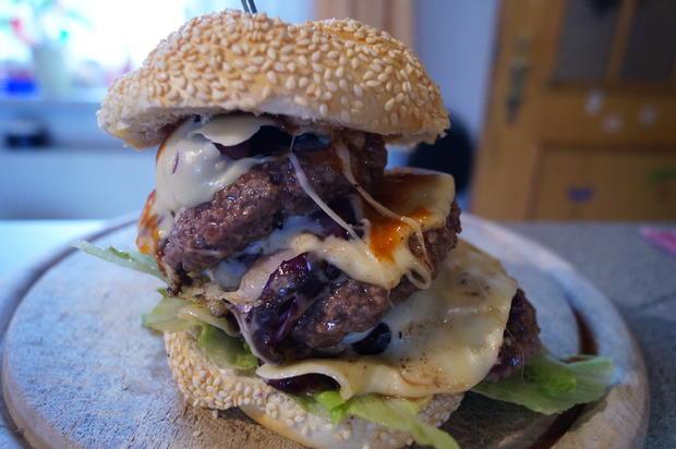 Scharfer Burger - Rezept - Bild Nr. 4
