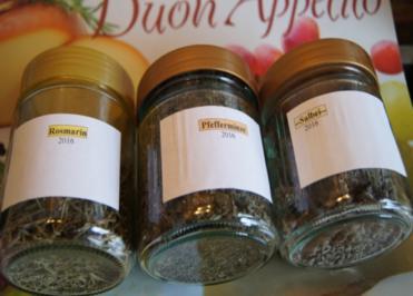 3 Kräuter-Gewürze aus eigenem Garten - Rezept