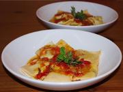 Dinkel-Ravioli mit Spinat-Ricottafüllung - Rezept