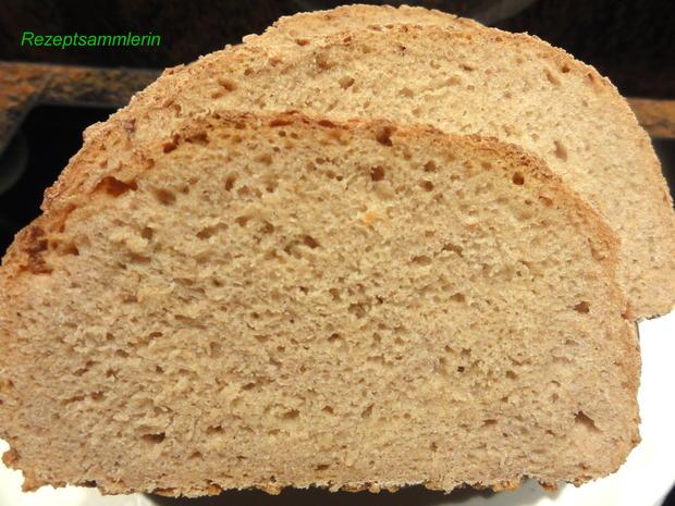 Brot:   MISCHBROT  750 gr. (mit Sauerteig) - Rezept - Bild Nr. 2