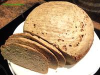 Brot:   MISCHBROT  750 gr. (mit Sauerteig) - Rezept
