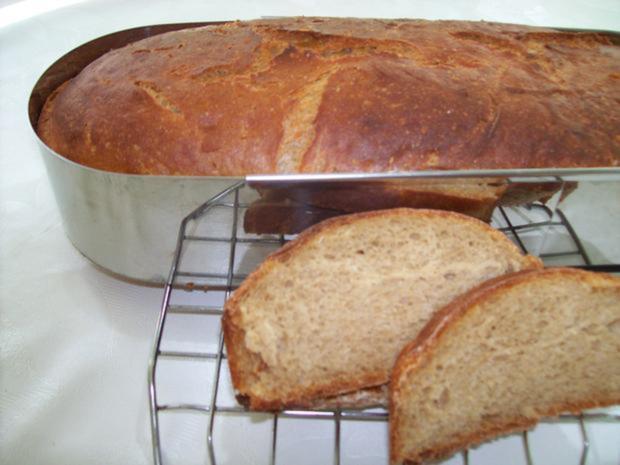 Brot:   MISCHBROT  750 gr. (mit Sauerteig) - Rezept - Bild Nr. 3