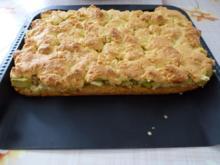 Apfel-Rhabarber-Streuselkuchen - Rezept