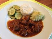 Würziges Rindfleisch-Curry, indisch - Rezept