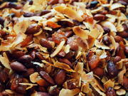 Gesunder Nuss-Kokos-Knabber-Snack - Rezept