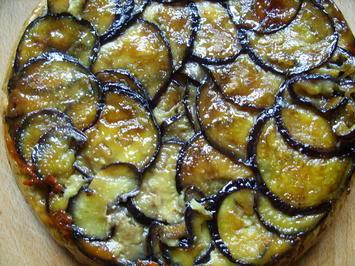 Rezept: Tarte-Tatin mit Auberginen