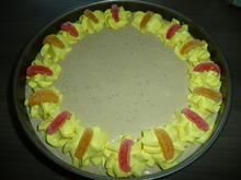 Rhabarber - Apfel - Feige Frischkäsetorte - Rezept