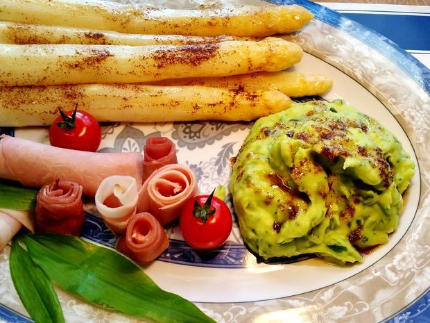 Bärlauch-Kartoffelpüree - Rezept - Bild Nr. 7