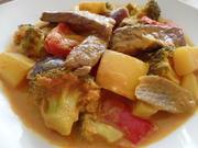Gelbes Rindfleischcurry - Rezept