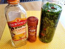 Bärlauchöl - selbst angesetzt - Rezept