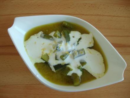 Spargelsuppe nach Thai-Art - Rezept