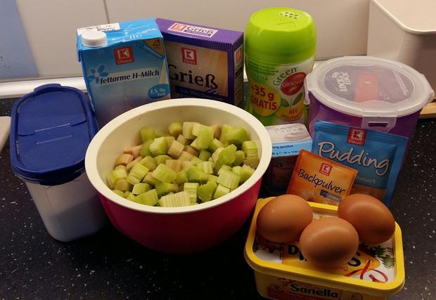 Rhabarberkuchen kalorienarm - Rezept - Bild Nr. 8