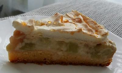 Rezept: Rhabarberkuchen kalorienarm